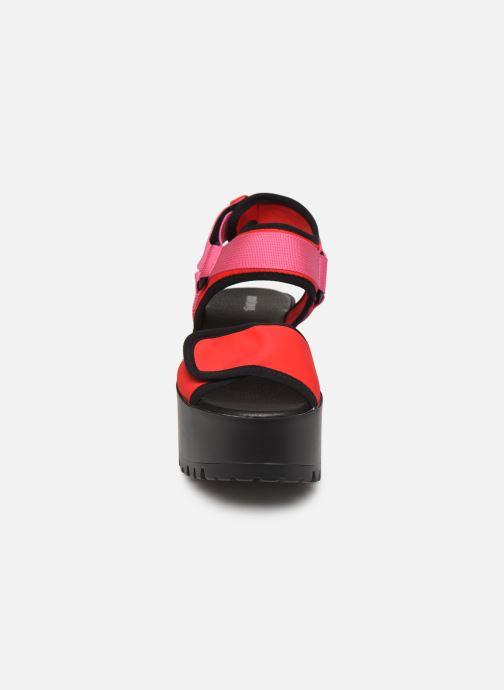 Sandales et nu-pieds MTNG 50739 Rose vue portées chaussures