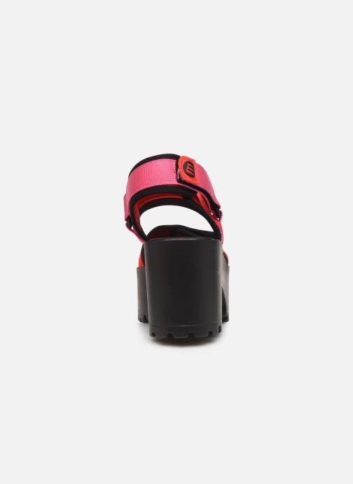 Sandales et nu-pieds MTNG 50739 Rose vue droite