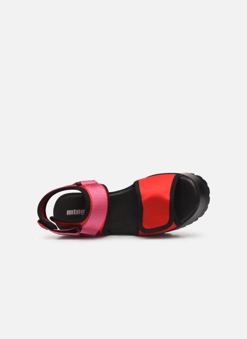 Sandales et nu-pieds MTNG 50739 Rose vue gauche
