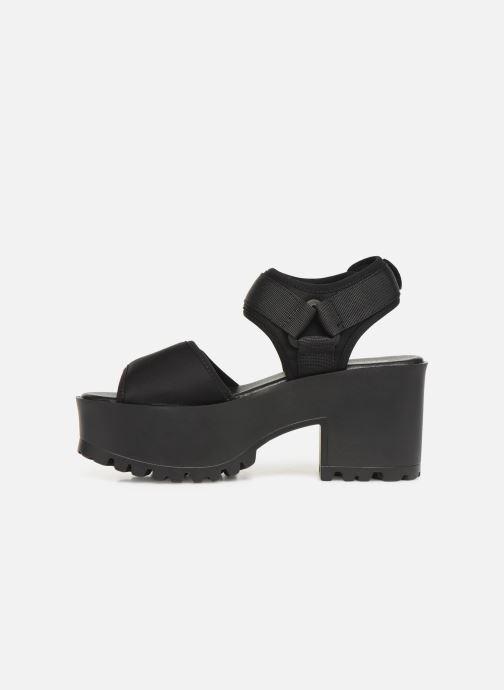 Sandalen MTNG 50739 Zwart voorkant