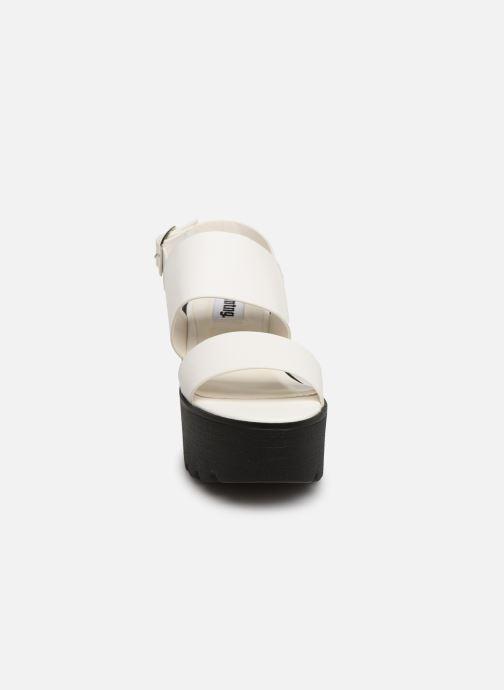 Sandales et nu-pieds MTNG 51059 Blanc vue portées chaussures