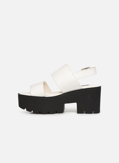 Sandales et nu-pieds MTNG 51059 Blanc vue face