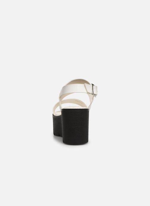 Sandali e scarpe aperte MTNG 51059 Bianco immagine destra