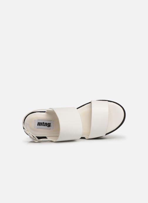 Sandales et nu-pieds MTNG 51059 Blanc vue gauche