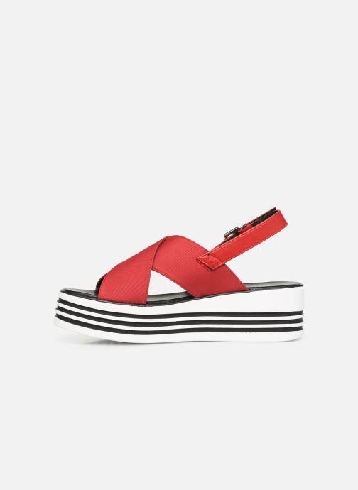 Sandales et nu-pieds MTNG 57820 Rouge vue face