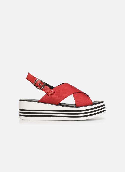 Sandales et nu-pieds MTNG 57820 Rouge vue derrière