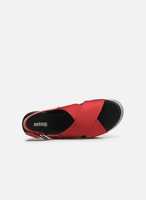 Sandales et nu-pieds MTNG 57820 Rouge vue gauche