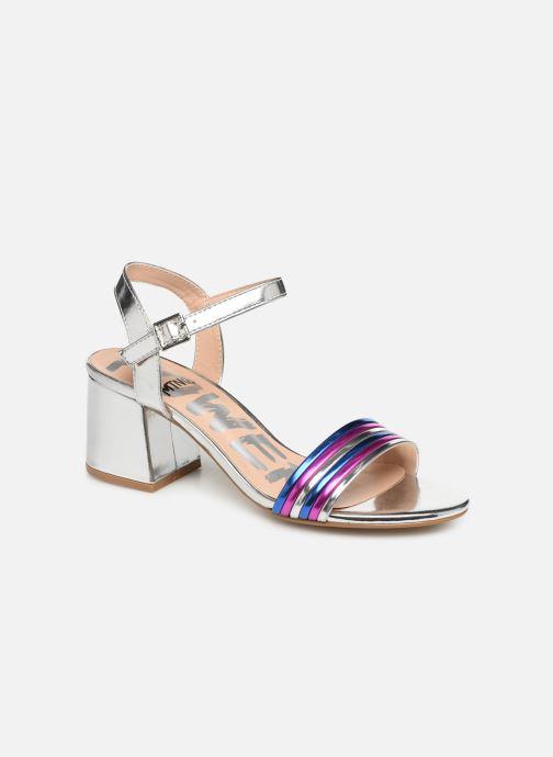 Sandales et nu-pieds MTNG 57825 Argent vue détail/paire