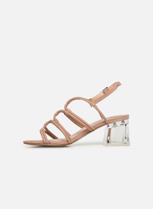 Sandales et nu-pieds MTNG 57941 Beige vue face