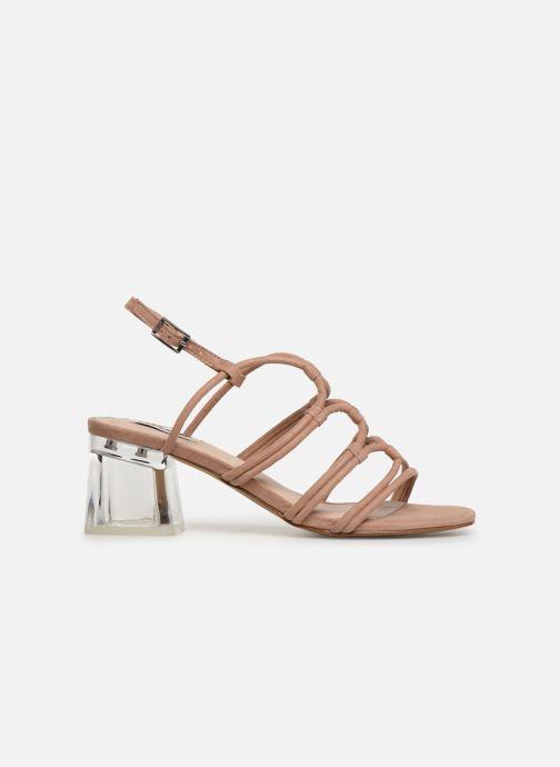 Sandales et nu-pieds MTNG 57941 Beige vue derrière