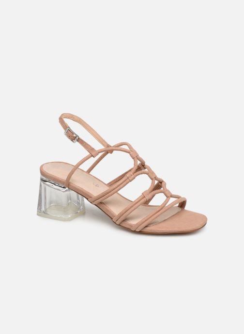 Sandales et nu-pieds MTNG 57941 Beige vue détail/paire