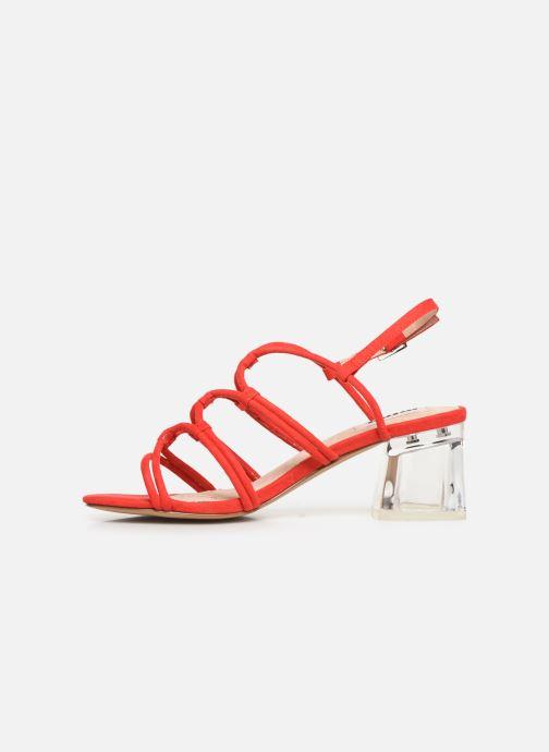 Sandales et nu-pieds MTNG 57941 Rouge vue face