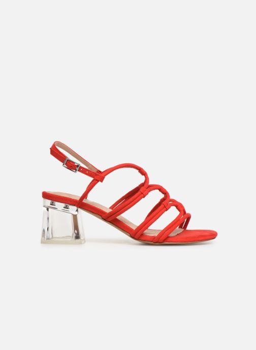 Sandales et nu-pieds MTNG 57941 Rouge vue derrière