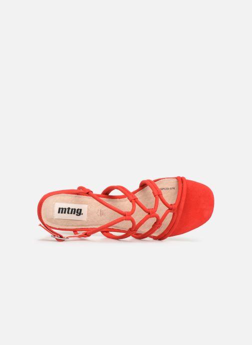 Sandales et nu-pieds MTNG 57941 Rouge vue gauche
