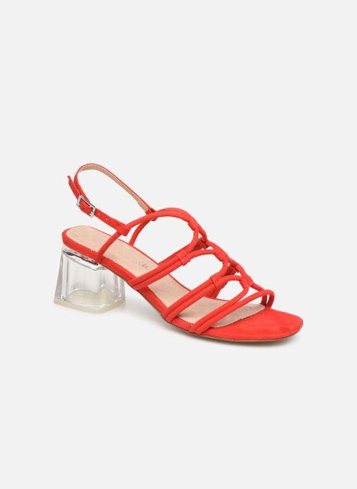 Sandales et nu-pieds MTNG 57941 Rouge vue détail/paire