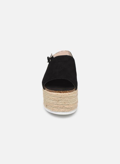 Espadrilles MTNG 58202 Noir vue portées chaussures