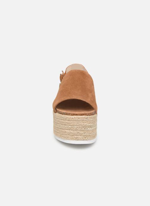 Espadrilles MTNG 58202 Marron vue portées chaussures