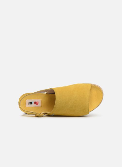Scarpe di corda MTNG 58202 Giallo immagine sinistra