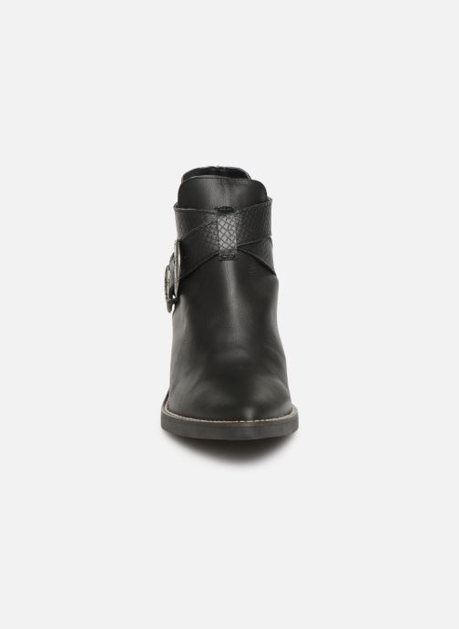 Ankle boots MTNG 58623 Black model view