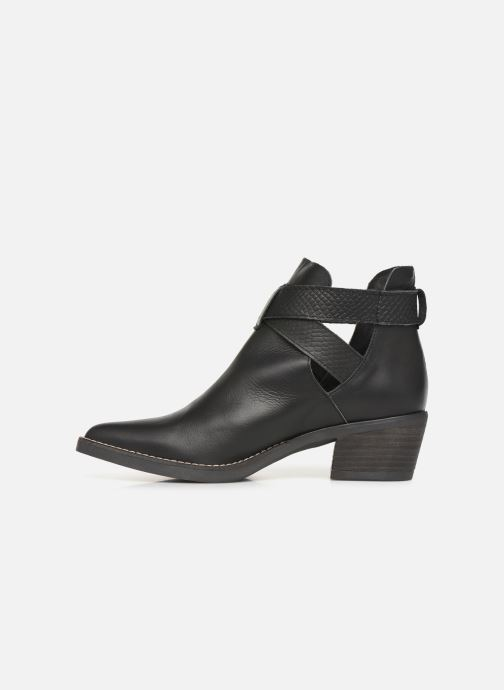 Ankle boots MTNG 58623 Black front view