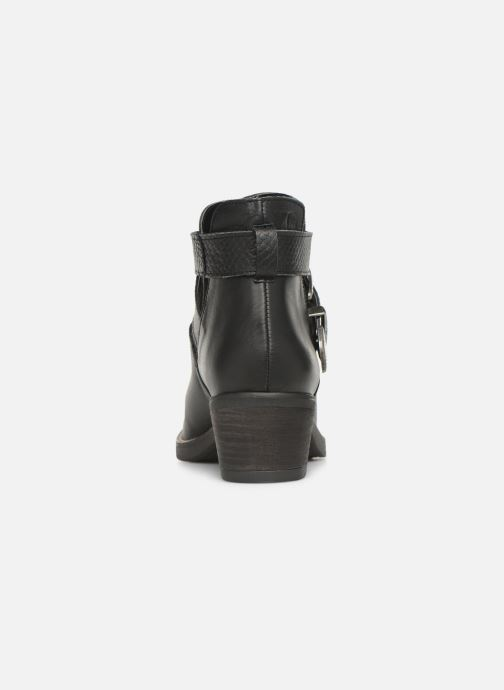 Ankle boots MTNG 58623 Black view from the right
