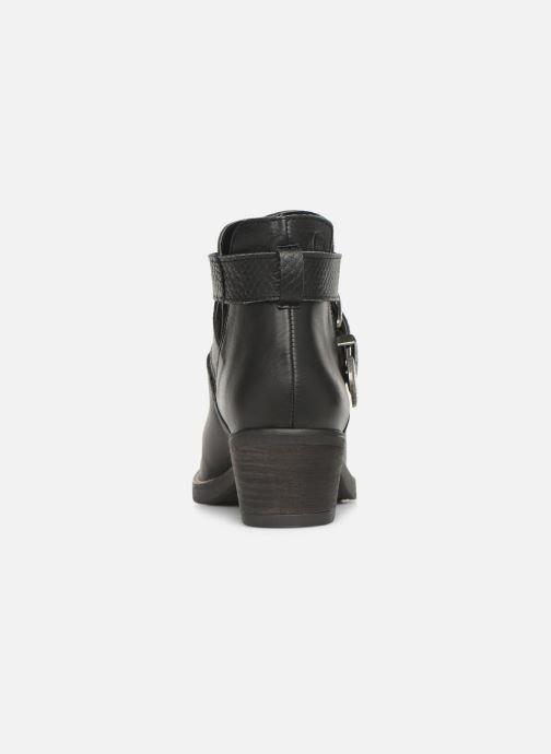 Boots en enkellaarsjes MTNG 58623 Zwart rechts