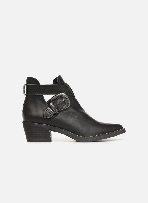 Boots en enkellaarsjes MTNG 58623 Zwart achterkant