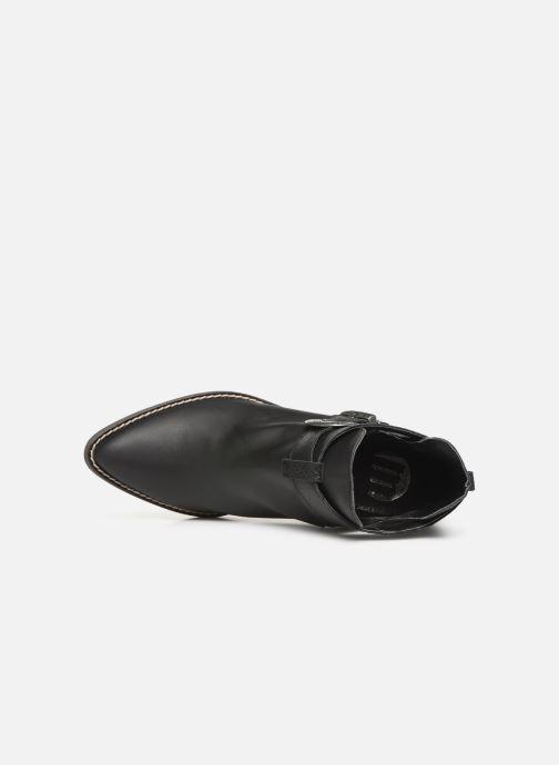 Boots en enkellaarsjes MTNG 58623 Zwart links