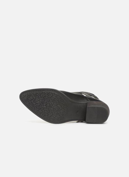 Stiefeletten & Boots MTNG 58623 schwarz ansicht von oben