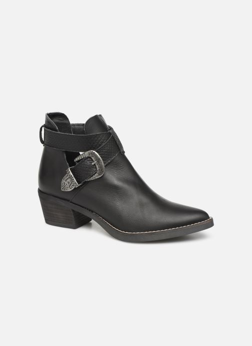 Ankle boots MTNG 58623 Black detailed view/ Pair view