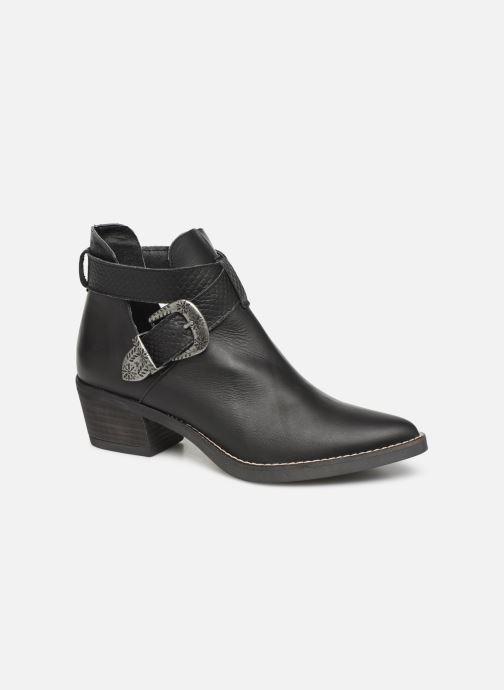 Boots en enkellaarsjes MTNG 58623 Zwart detail