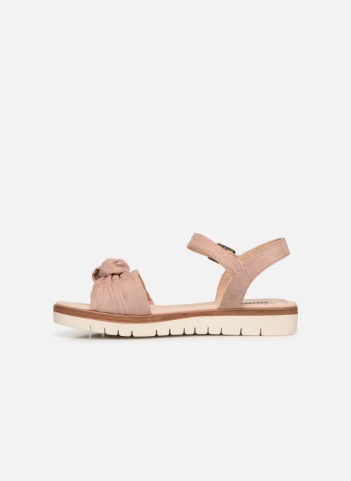 Sandales et nu-pieds MTNG 58693 Beige vue face
