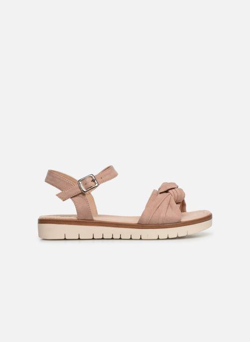 Sandales et nu-pieds MTNG 58693 Beige vue derrière