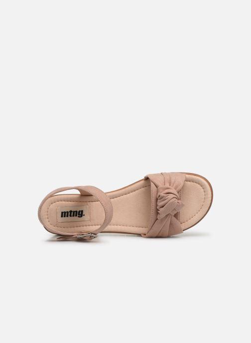 Sandales et nu-pieds MTNG 58693 Beige vue gauche
