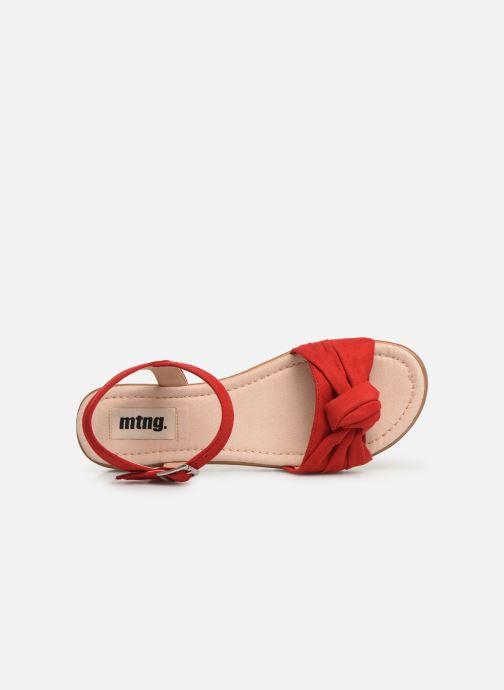 Sandalias MTNG 58693 Rojo vista lateral izquierda