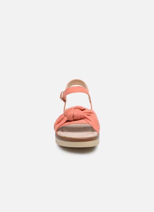 Sandales et nu-pieds MTNG 58693 Orange vue portées chaussures
