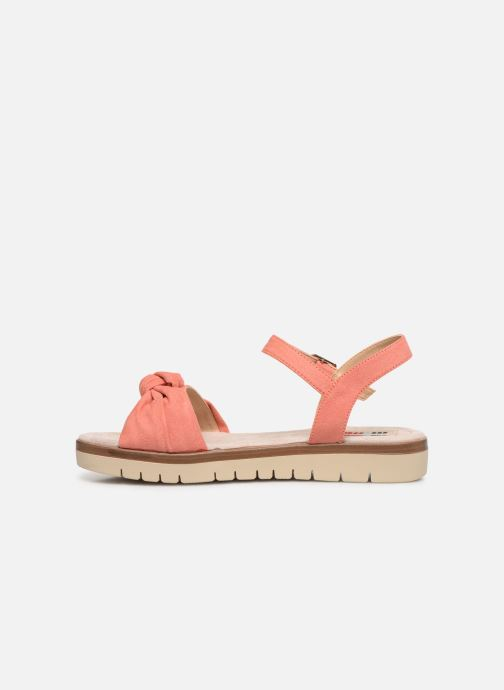 Sandales et nu-pieds MTNG 58693 Orange vue face