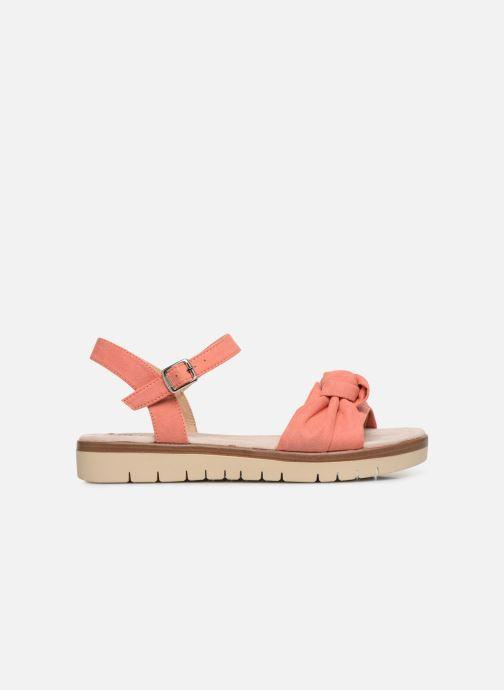 Sandales et nu-pieds MTNG 58693 Orange vue derrière