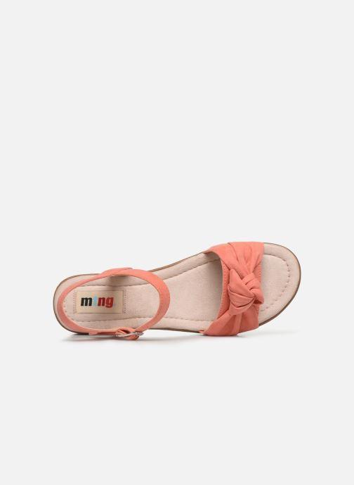 Sandales et nu-pieds MTNG 58693 Orange vue gauche