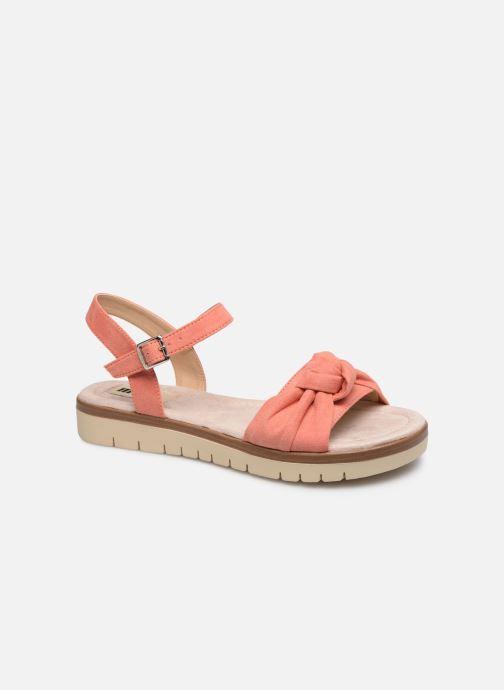 Sandales et nu-pieds MTNG 58693 Orange vue détail/paire