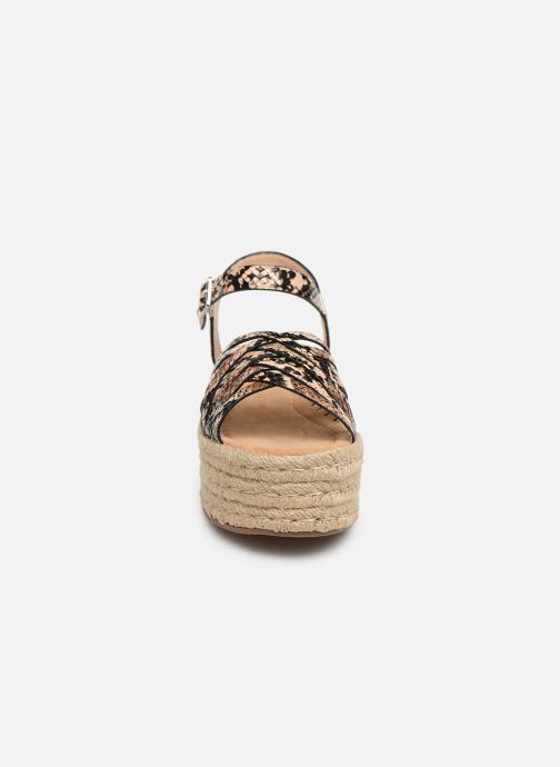 Espadrilles MTNG 58844 Marron vue portées chaussures