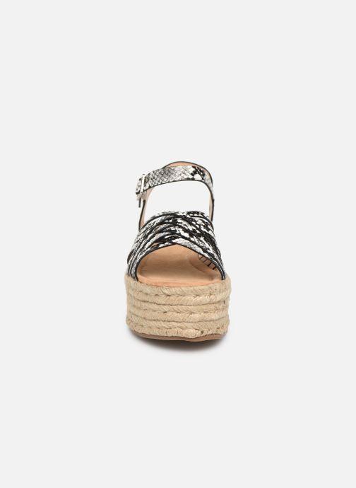 Espadrilles MTNG 58844 Gris vue portées chaussures