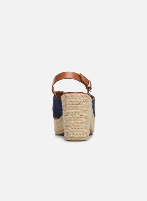 Scarpe di corda MTNG 58873 Azzurro immagine destra