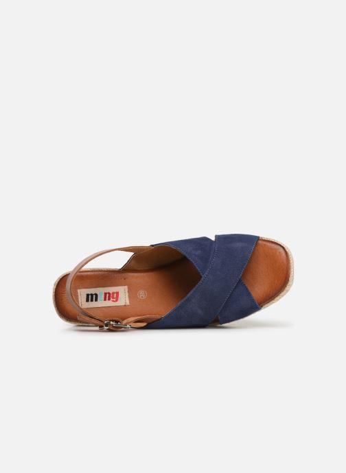 Scarpe di corda MTNG 58873 Azzurro immagine sinistra