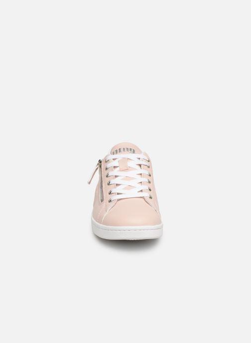 Baskets MTNG 69056 Rose vue portées chaussures