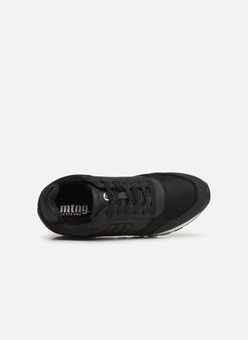 Baskets MTNG 69408 Noir vue gauche