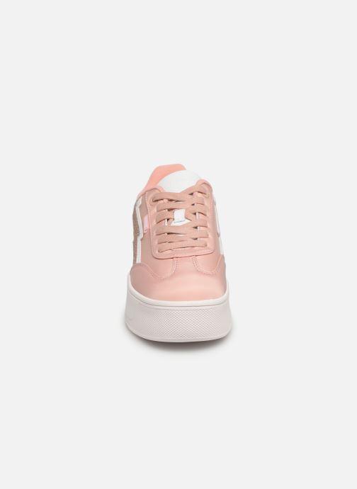 Baskets MTNG 69586 Rose vue portées chaussures