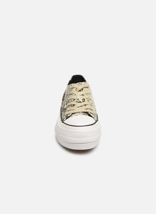 Baskets MTNG 69589 Gris vue portées chaussures