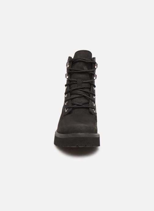 Bottines et boots Timberland Carnaby Noir vue portées chaussures