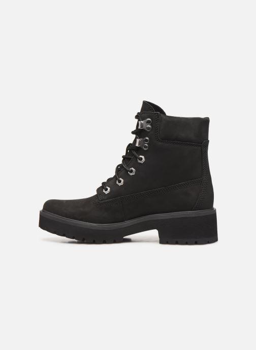 Bottines et boots Timberland Carnaby Noir vue face